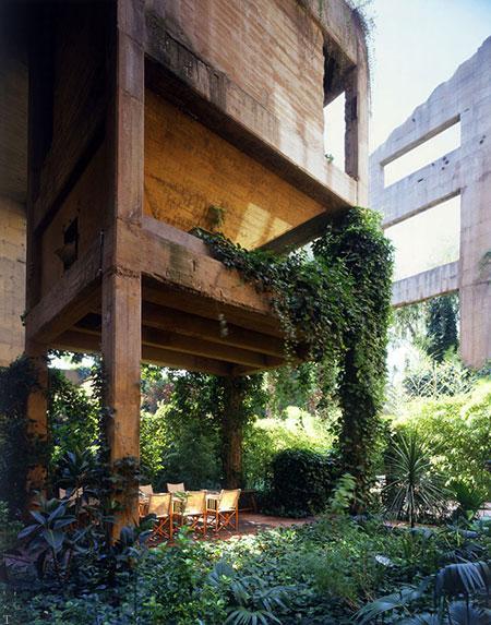تصاویر تبدیل کارخانه ی سیمان به خانه ای مدرن