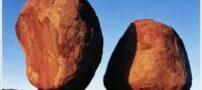 تصاویری عجیب از تعادل بی نظیر سنگ ها
