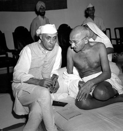 تاثیر شخصیت «گاندی» زاهد هندی