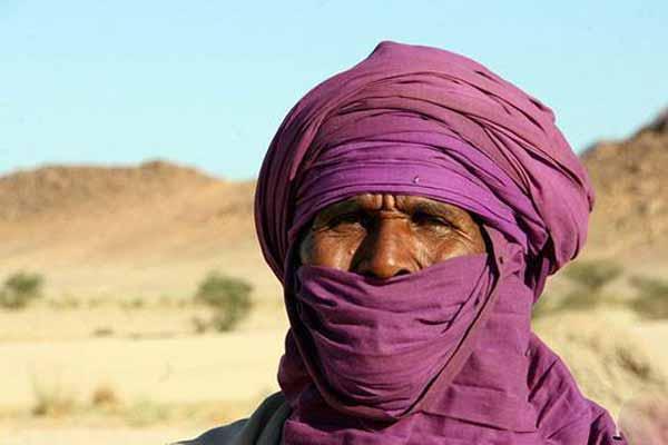 قبیله ای که مردانش حجاب دارند (عکس)
