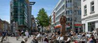 نمایی از پیاده رو های شهرهای بزرگ دنیا