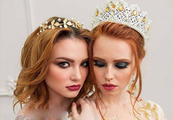 مدل تاج عروس جذاب و ظریف برای دختر خانم ها