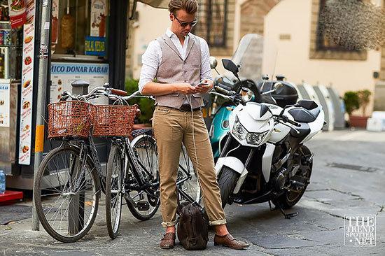 مدل لباس مردانه «Pitti Uomo 92»