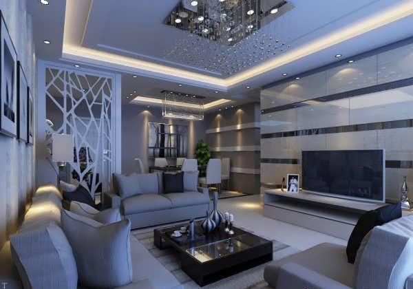 طراحي شیک و مدرن پذيرايي زيبا