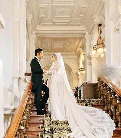 حضور افراد مشهور در مراسم عروسی رضا قوچان نژاد