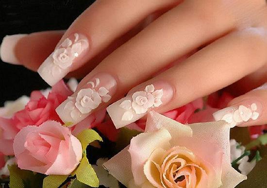 مدل های زیبایی طراحی ناخن ؛ مخصوص عروس خانم ها