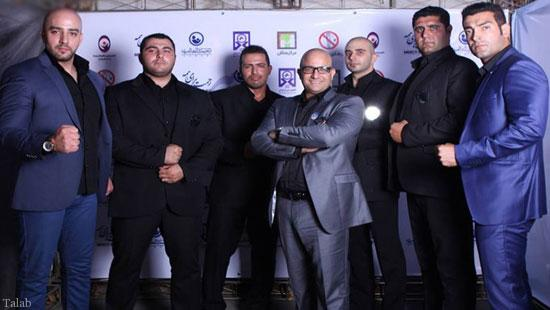 معرفی بازیگرانی ایرانی را که بادیگارد دارند