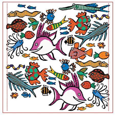 معمایی تعدادی ماهی (جانور دریایی)