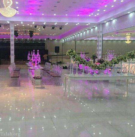 راهنمایی انتخاب تزئینات تالار عقد و عروسی
