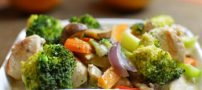 آموزش تهیه بشقاب مخلوط سبزیجات