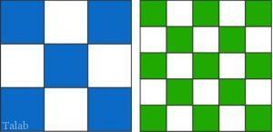 سنجش هوش (مقایسه مساحت های رنگی)
