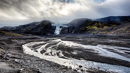یکی از بزرگترین یخچال های طبیعی در اروپا