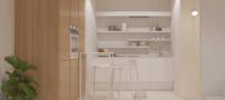 دکوراسیون داخلی آپارتمانی یک خوابه