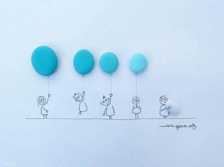طراحی های ترکیبی و طنز با اشیا