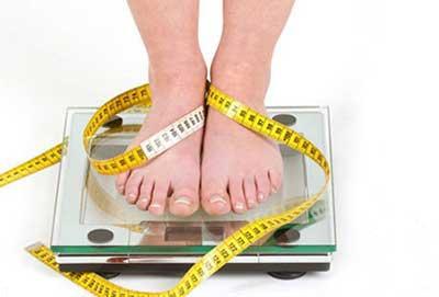 میزان کاهش وزن در یک ماه