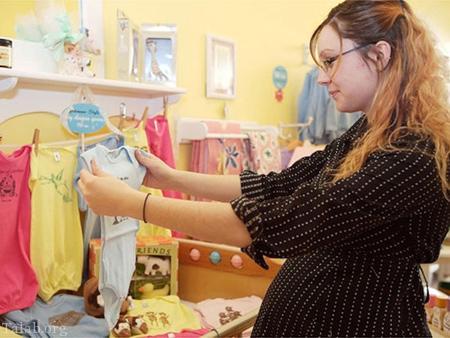 نحوه ی انتخاب خرید لباس برای نوزاد