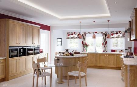 انتخاب پرده های آشپزخانه طرح دار (عکس)