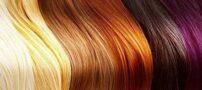 معرفی رنگ مو های طبیعی
