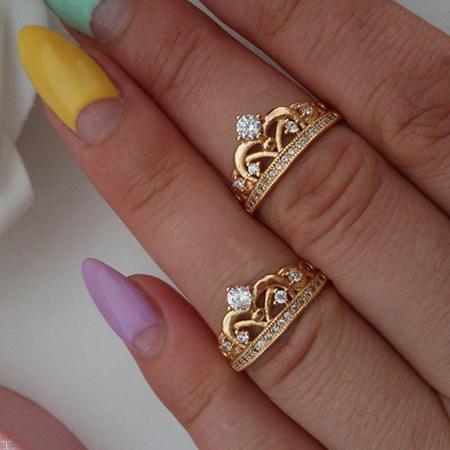 شیک ترین مدل های انگشترهای طلا