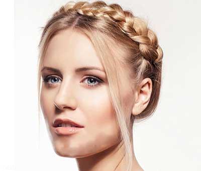 تصاویر از مدل مو زنانه مخصوص صورت های گرد