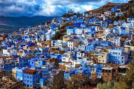 آشنایی با مکان های دیدنی مراکش (تصاویر)