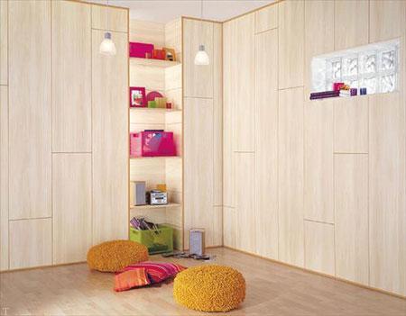 طرح های دیوارکوب چوبی