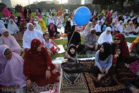 تصویری از عید قربان مسلمانان در سراسر جهان
