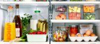 10 روش نگهداری از مواد غذایی در یخچال