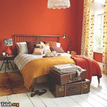 چیدمان اتاق خواب بصورت حرفه ای