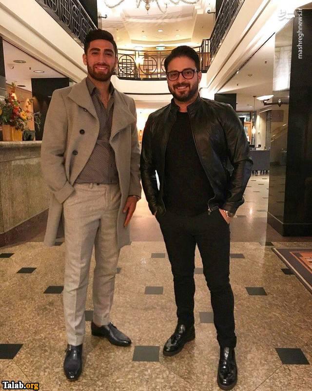 بابک و علیرضا جهانبخش در کنار هم (عکس)