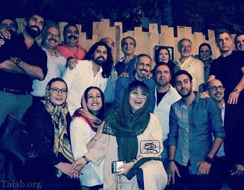 تصویری از بهنوش بختیاری در کافه جواد رضویان