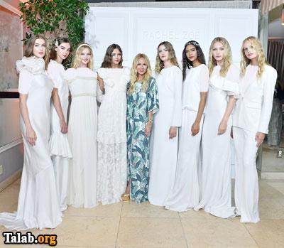 طراحی های شیک لباس عروس توسط ریچل زو