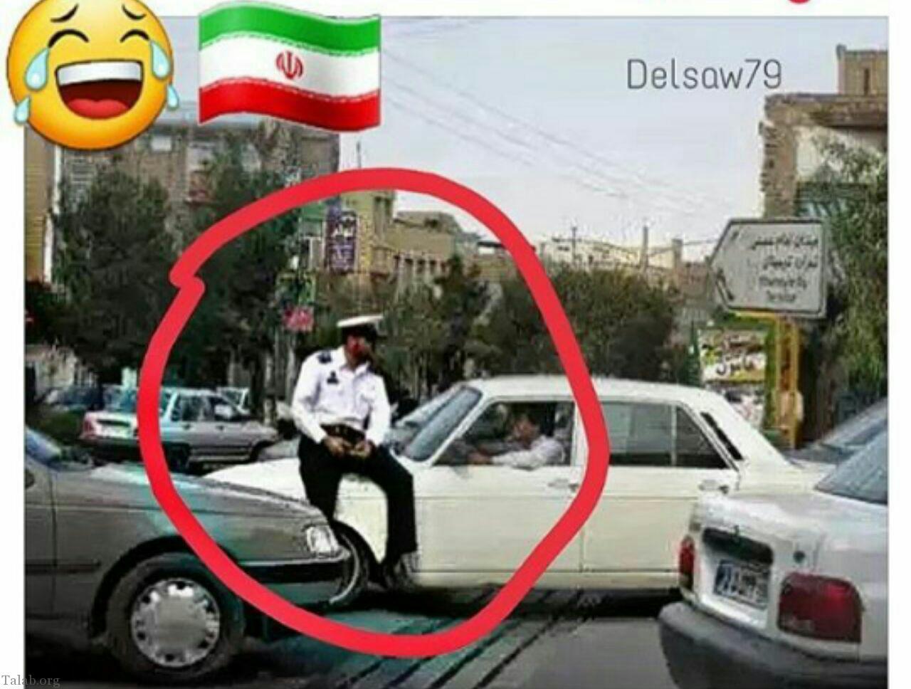 عکس های خنده دار و بامزه ایران و جهان (64)