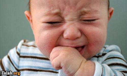 علت عصبانی شدن نوزاد و در نتیجه گریه کردن او در چیست ؟