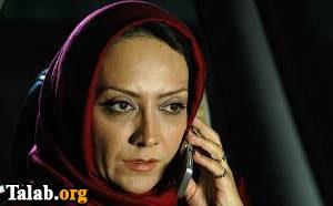 تصاویری  جالب از بازیگر زن ایرانی در روسیه