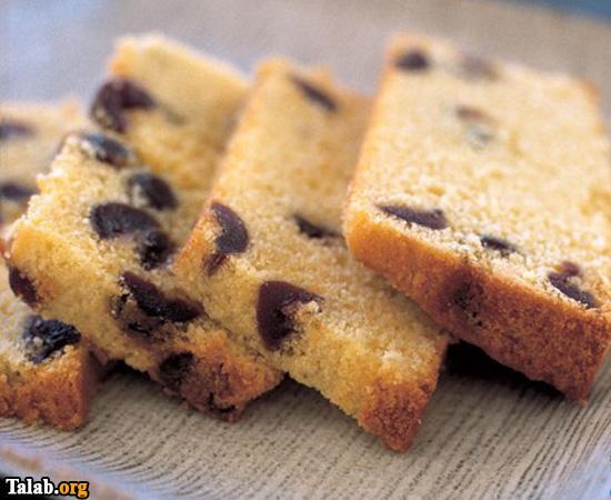 دستور تهیه کیک گیلاس با بادام زمینی
