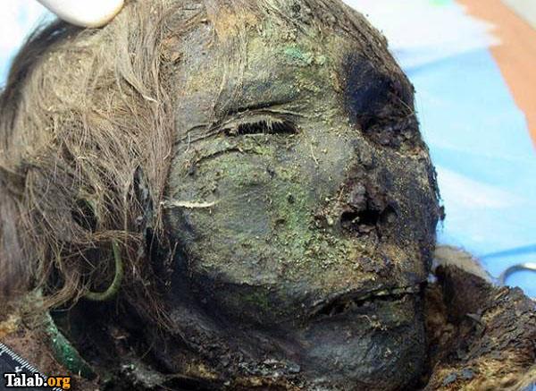 کشف یک مومیایی 900 ساله معروف به شاهزاده قطبی