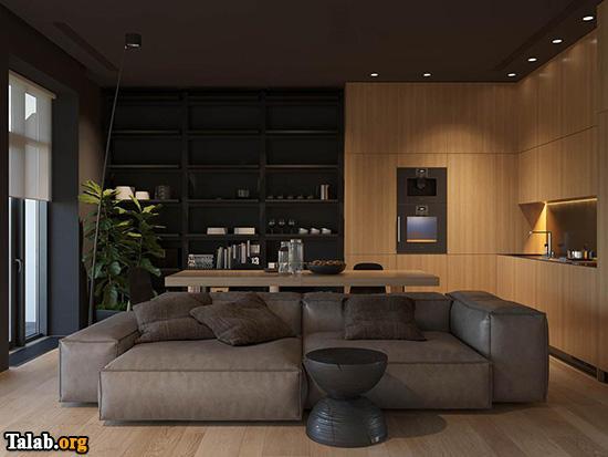 طراحی 3 مدل چیدمان منزل
