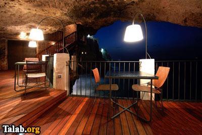 تصاویری دیدنی از رستورانی رویایی در غار