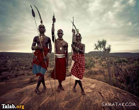 زندگی جالب و عجیب مردمان سیاه پوست منطقه سامبورو