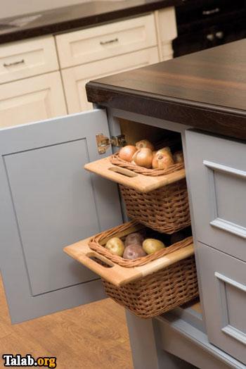 کابینت مدرن برای آشپزخانه