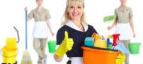 راهنمایی تمیز کردن منزل