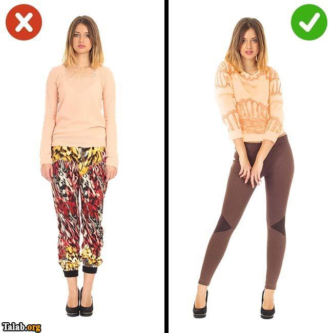 اصلاح نقص های لباس پوشیدن (عکس)