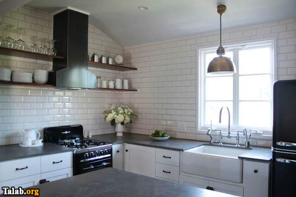 10 ترفند چیدمان در آشپزخانه نقلی