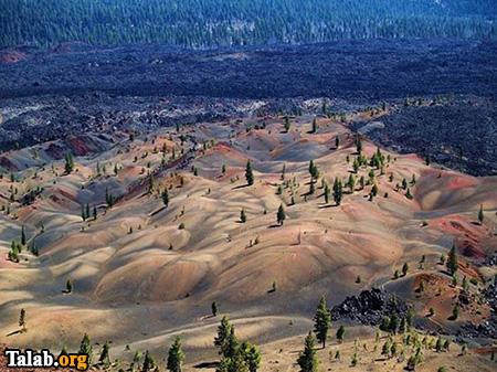 پارک لاسن کالیفرنیا یکی از عجایب های دیدنی در جهان است (عکس)
