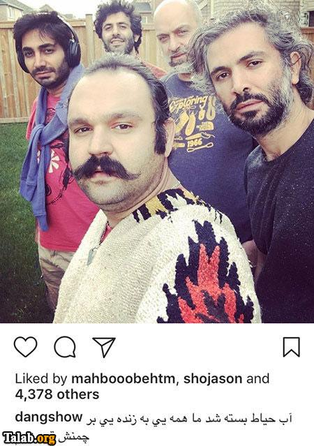 عکس های جالب بازیگران در شبکه های اجتماعی (89)