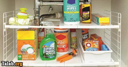 چیدمان مرتب آشپزخانه با این اکسسوری ها