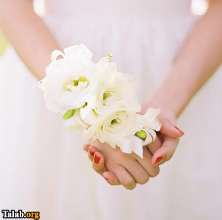 خوردن اب  توسط زن انواع دسته گل های جدید عروس شکیل و زیبا