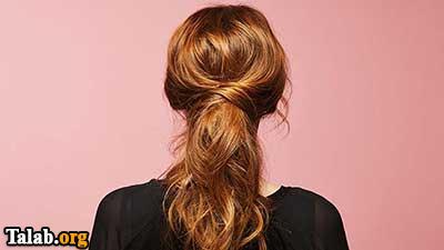 روش هایی برای درست کردن موهای بلند