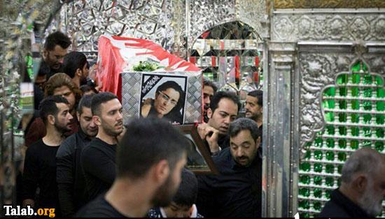 مراسم تشییع پیکر هنرمند حامد هاکان